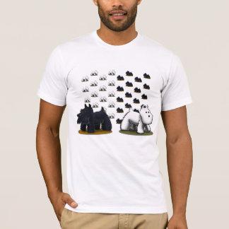 De T-shirt van ScottieWestiePattern