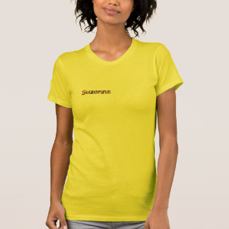De t-shirt van Suzanne