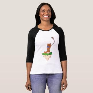 De T-shirt van Teddy van de Bushalte