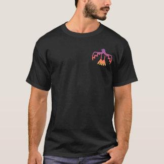 De T-shirt van Thunderbird van de zonsondergang