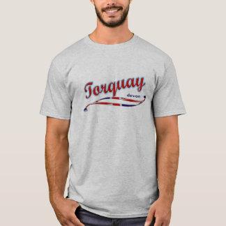 De T-shirt van Torquay