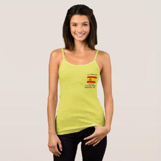 De T-shirt van vrouwen met Spaanse vlag
