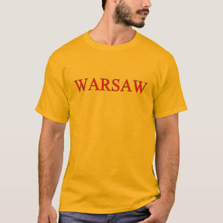 De T-shirt van Warshau