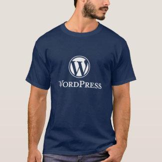 De T-shirt van Wordpress (Marine)