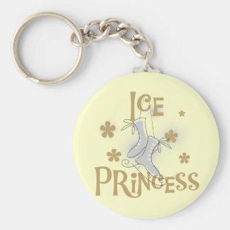 De T-shirts en de Giften van de Prinses van het ij Basic Ronde Button Sleutelhanger