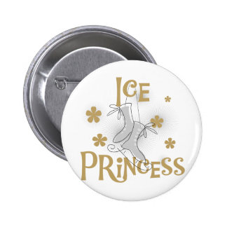 De T-shirts en de Giften van de Prinses van het ij Ronde Button 5,7 Cm
