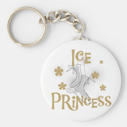 De T-shirts en de Giften van de Prinses van het ij Sleutelhanger
