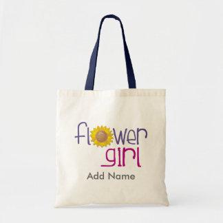 De T-shirts en de Giften van Flowergirl van de zon Budget Draagtas
