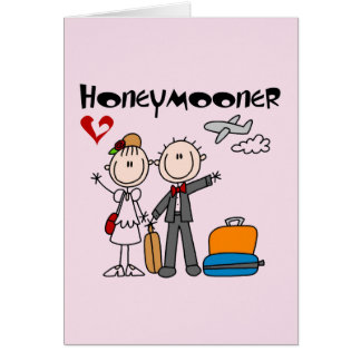 De T-shirts en de Giften van Honeymooner van het Kaart