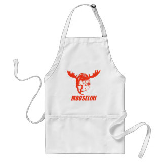 De T-shirts en de Giften van Mooselini Standaard Schort