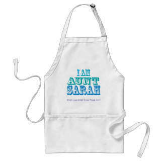 De T-shirts en de Giften van Sarah van de tante Standaard Schort