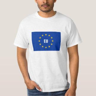 De t-shirts van de de vlag Europese Unie van de EU