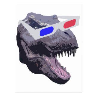 De t-shirts van de dinosaurus briefkaart