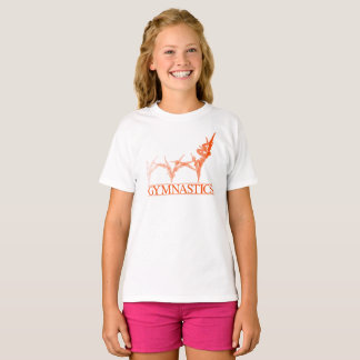 De T-shirts van de gymnastiek