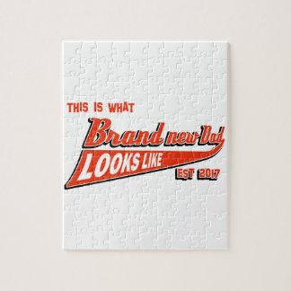 De t - shirts van de het babyaankondiging van het puzzel