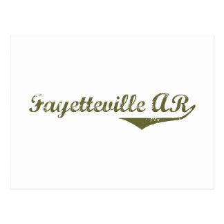 De t-shirts van de Revolutie van Fayetteville Briefkaart
