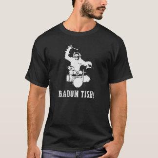 De T-shirts van de slagwerker