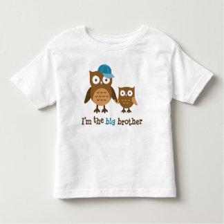 De t-shirts van de Uil van Mod. van de grote Broer