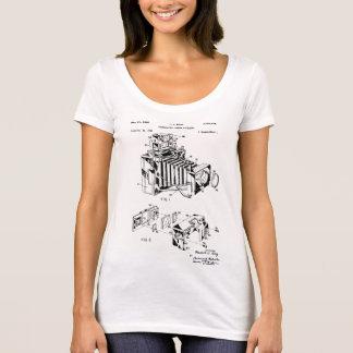 De T-shirts van de vintage Vrouwen van het Octrooi