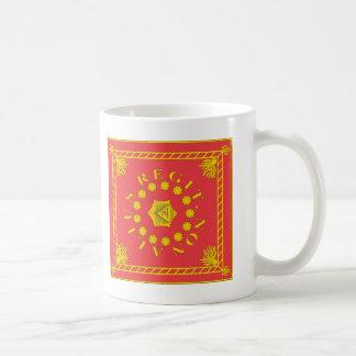 De T-shirts van de Vlag van het Legioen van Koffiemok