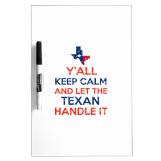 De t - shirts van de Vlag van Texas Whiteboards