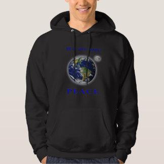 De t-shirts van de Vrede van de wereld
