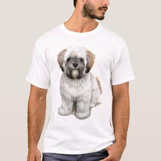 De T-shirts van het apsoPuppy van Lhasa