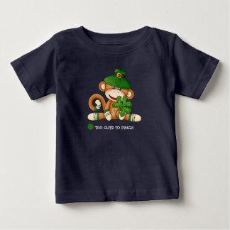 De T-shirts van het Baby van de Dag van de Aap