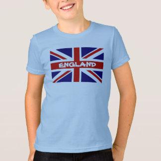 De T-shirts van het kind met de Engelse vlag van