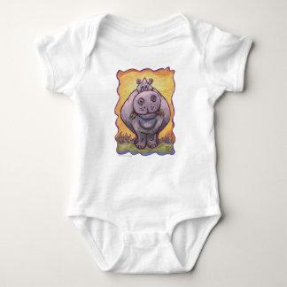 De T-shirts van het nijlpaard