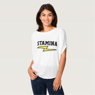 De t-shirts van het UITHOUDINGSVERMOGEN