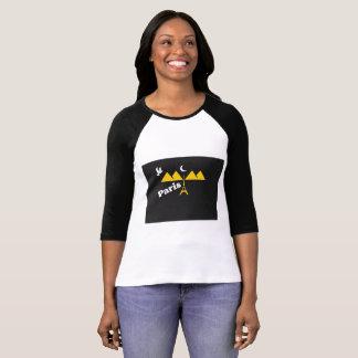 De T-shirts van Parijs voor vrouwen 2017,