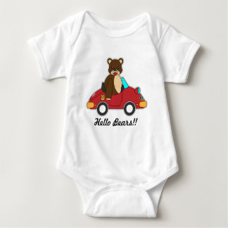 De t-shirts voor baby, dragen afbeelding