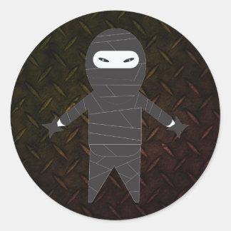 De taaie Stickers van de Post van de Vechter Ninja