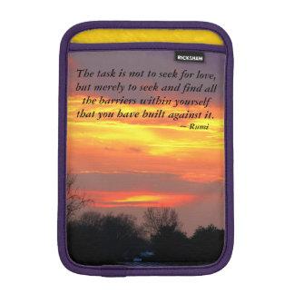 De taak van de zonsondergang… is niet voor liefde