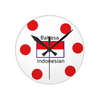 De Taal van Bahasa en het Indonesische Ontwerp van Ronde Klok