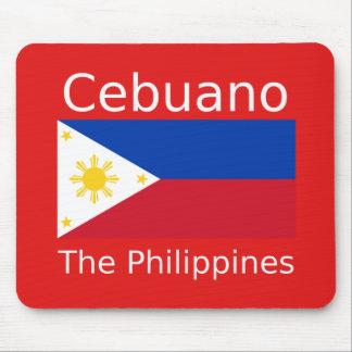 De Taal van Cebuano en de Vlag van Filippijnen Muismat