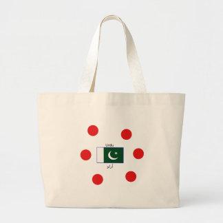 De Taal van Urdu en het Ontwerp van de Vlag van Grote Draagtas