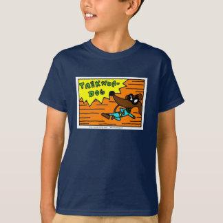 "De ""taekwon-HOND"" van de mug Kinder Donkere T Shirt"