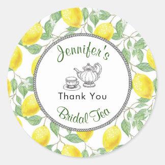 De Tak van citroenen en het Vrijgezellenfeest van Ronde Sticker