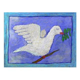 De Tak van de duif en van de Olijf door Ian Roz Briefkaart