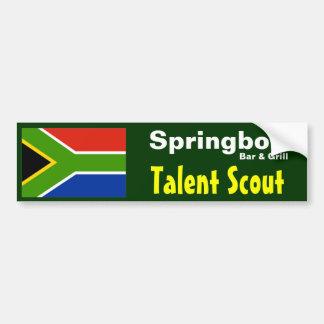 De Talentjager van de Bar van de springbok - de St Bumpersticker