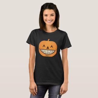 De tand Pompoen van het Overhemd van Halloween met T Shirt