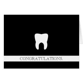 De tand Professionele Kies van de Gelukwensen van Briefkaarten 0