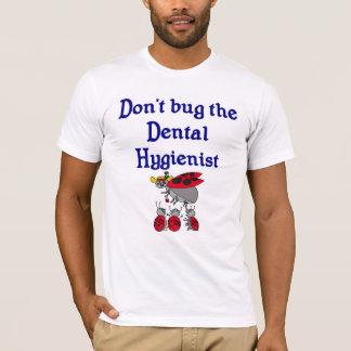 De tand T-shirt van de Hygiënist