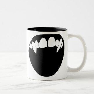 De Tanden van de vampier Koffie Beker
