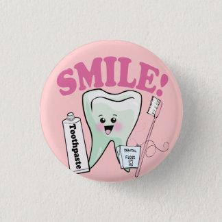 De TandHygiënist van de tandarts Ronde Button 3,2 Cm