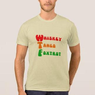 De Tango trendy Foxtrot van de Whisky van de pret T Shirt