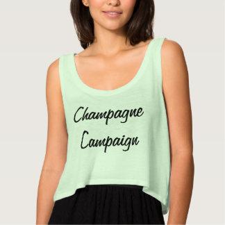 De Tank van de Campagne van Champagne van vrouwen