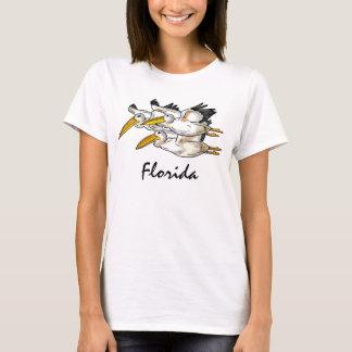 De tank van de pelikanendames van Florida
